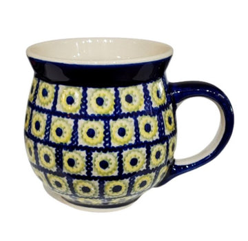 Polish Pottery Gentleman Mug