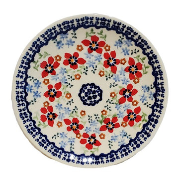 Polish Pottery Country Garden Luncheon Plate