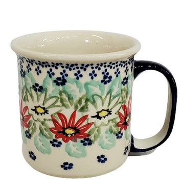 Polish Pottery Lily Pond Canadian Mug