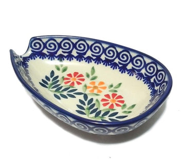 Polish Pottery Spring Morning  Spoon Rest