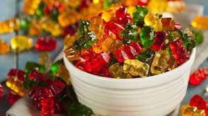 Fruit Juice Gummy Bears -500g