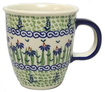 Polish Pottery Large Bistro Mug