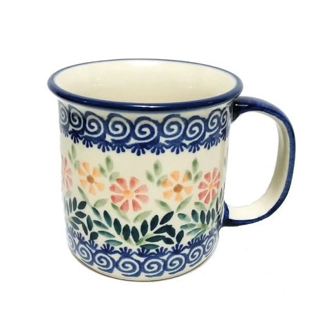 Polish Pottery Canadian Mug
