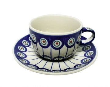 Polish Pottery Tea Cup