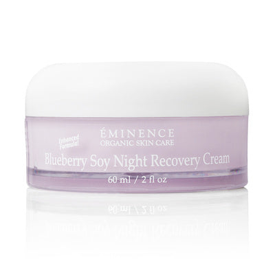 Blueberry Soy Night Recovery Cream - Eminence Organic Skincare