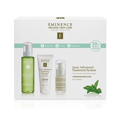 Advanced 3-Step Treatment System - Eminence Organic Skincare