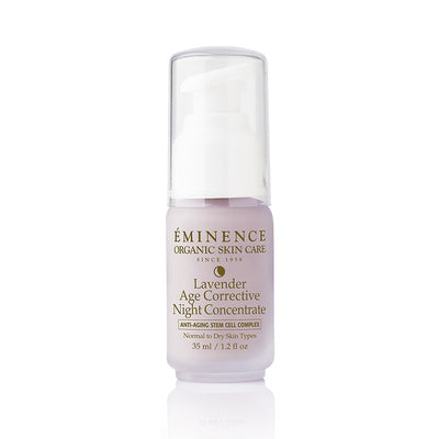 Lavender Age Corrective Night Concentrate - Eminence Organic Skincare