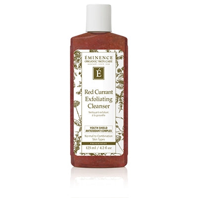 Red Currant Exfoliating Cleanser - Eminence Organic Skincare
