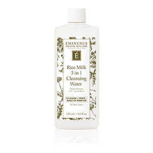Rice Milk 3 in 1 Cleansing Water - Eminence Organic Skincare