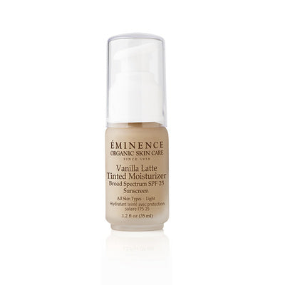 Caramel Latte Tinted Moisturizer - SPF 25 (Light to Medium) - Eminence Organic Skincare