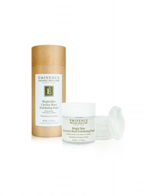 Bright Skin Licorice Root Exfoliating Peel - Eminence Organic Skincare