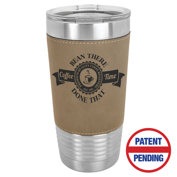 Polar Camels Leather Cups 20oz