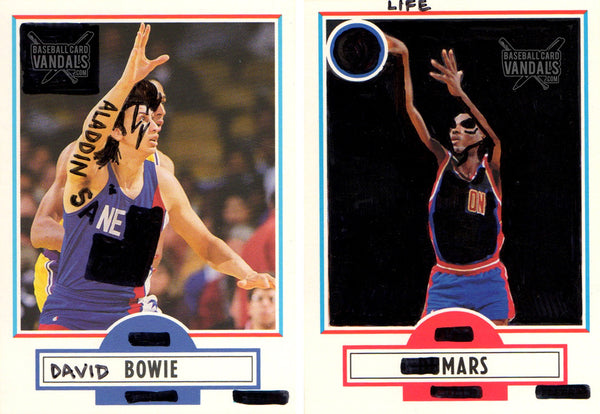 David Bowie: Life On Mars (Set of 2)