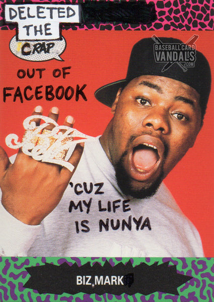 Deleted The Crap Out Of Facebook 'Cuz My Life Is Nunya Biz, Mark.
