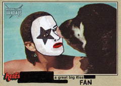 Here's A Great Big Kiss Fan