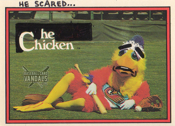 He Scared... He Chicken