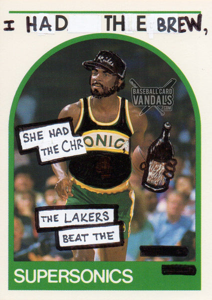I Had The Brew, She Had The Chronic, The Lakers Beat The Supersonics
