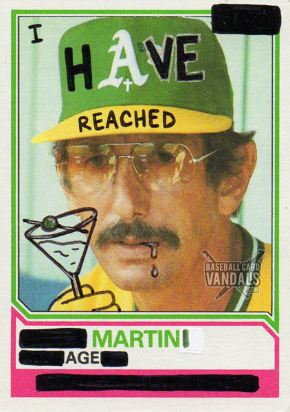 I Have Reached Martini Age