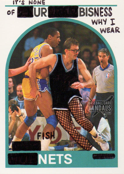 It's None Of Ur Bisness Why I Wear Fish Nets