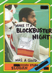 """Make It A Blockbuster Night"" Was A Good Video Store Slogan"