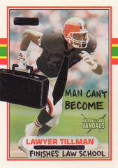 Man Can't Become Lawyer Tillman Finishes Law School