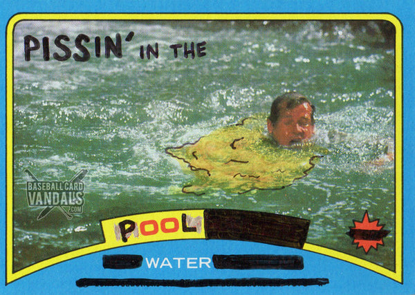 Pissin' In The Pool Water