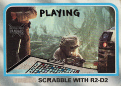Playing Scrabble With R2-D2