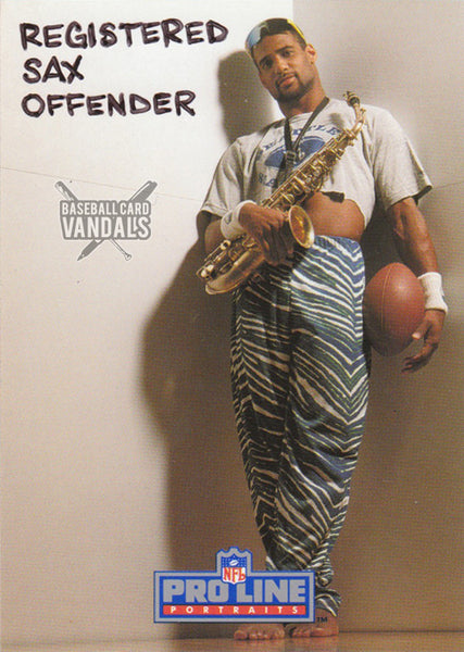 Registered Sax Offender