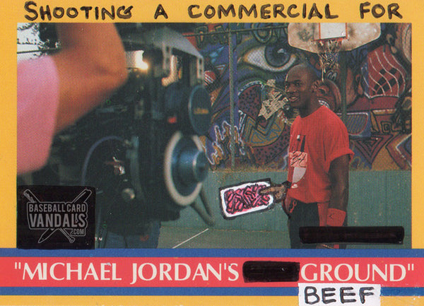 Shooting A Commercial For Michael Jordan's Ground Beef