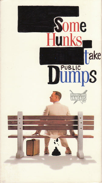 Some Hunks Take Public Dumps (Vandalized VHS Tape)