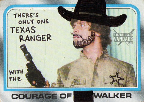 There's Only One Texas Ranger With The Courage Of Walker