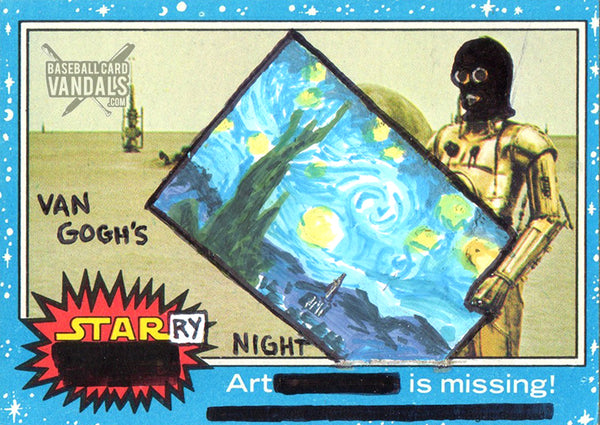 Van Gogh's Starry Night Art Is Missing!
