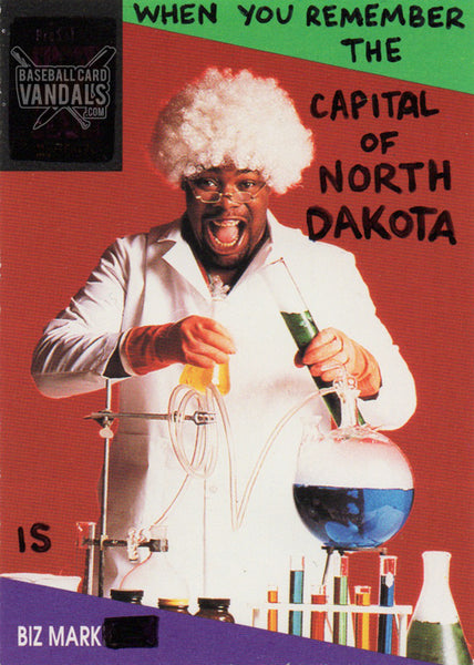 When You Remember The Capital Of North Dakota Is Bizmark...