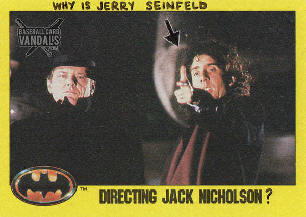 Why Is Jerry Seinfeld Directing Jack Nicholson?