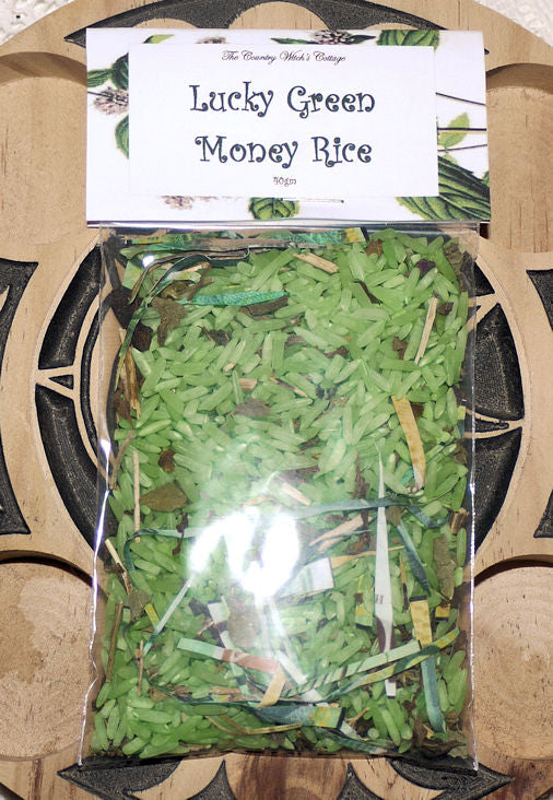 Lucky Green Money Rice