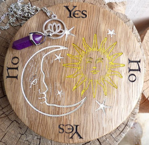 Sun, Moon & Star Pendulum Board
