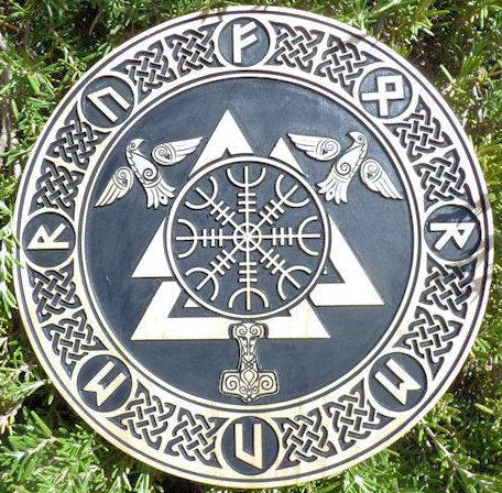 Protection Rune Plaque #2