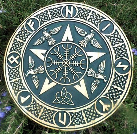 Protection Rune Plaque