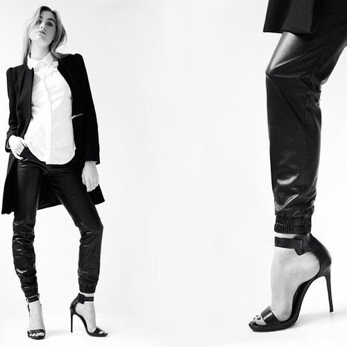 Yossi for Kevin Shahroozi leather trousers