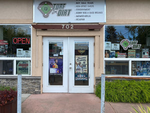 Turf and Dirt Sports Cards Store Front