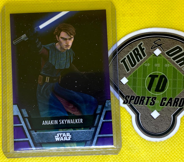 2020 Star Wars Holocron Purple #JEDI14 ANAKIN SKYWALKER #2/10