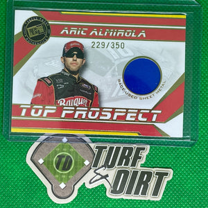 2007 Press Pass Top Prospects Sheet Metal #AASM Aric Almirola 229/350