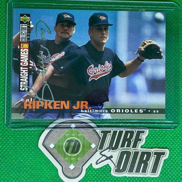 1995 Collector's Choice Silver Signature #85 Cal Ripken