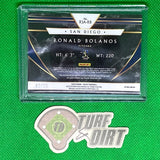 2020 Select Rookie Jersey Autographs Prizms Cracked Ice #17 Ronald Bolanos #2/25