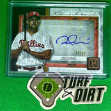 2020 Topps Museum Collection Archival Autographs Copper #AARH Rhys Hoskins 4/50