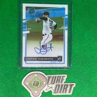 2020 Donruss Optic Rated Rookies Signatures #30 Jordan Yamamoto