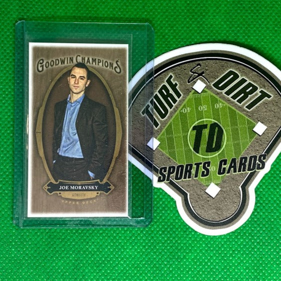 2020 Upper Deck Goodwin Champions Wood Lumberjack Mini #5 Joe Moravsky