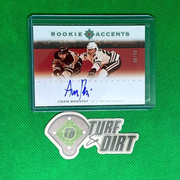 2019-20 Ultimate Collection Rookie Accents Autographs #RAAB Adam  #98/99