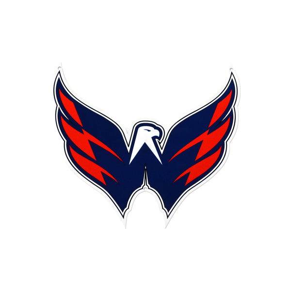 Washington Capitals Laser Cut Steel Logo Spirit Size-Wings Logo