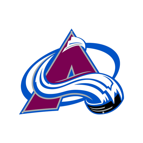 Colorado Avalanche Laser Cut Steel Logo Statement Size-Primary Logo